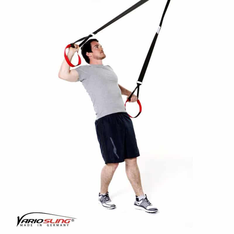 Sling-Trainer-Schulterübungen-Rotation mit Unterarme nach unten-oben-02