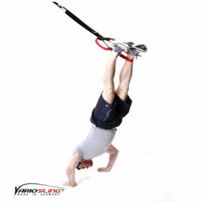 Sling-Trainer Schulterübung - Schulterpresse einbeinig