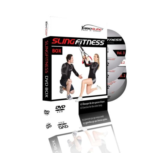 Variosling 4er DVD Slingfitness Set 1-4