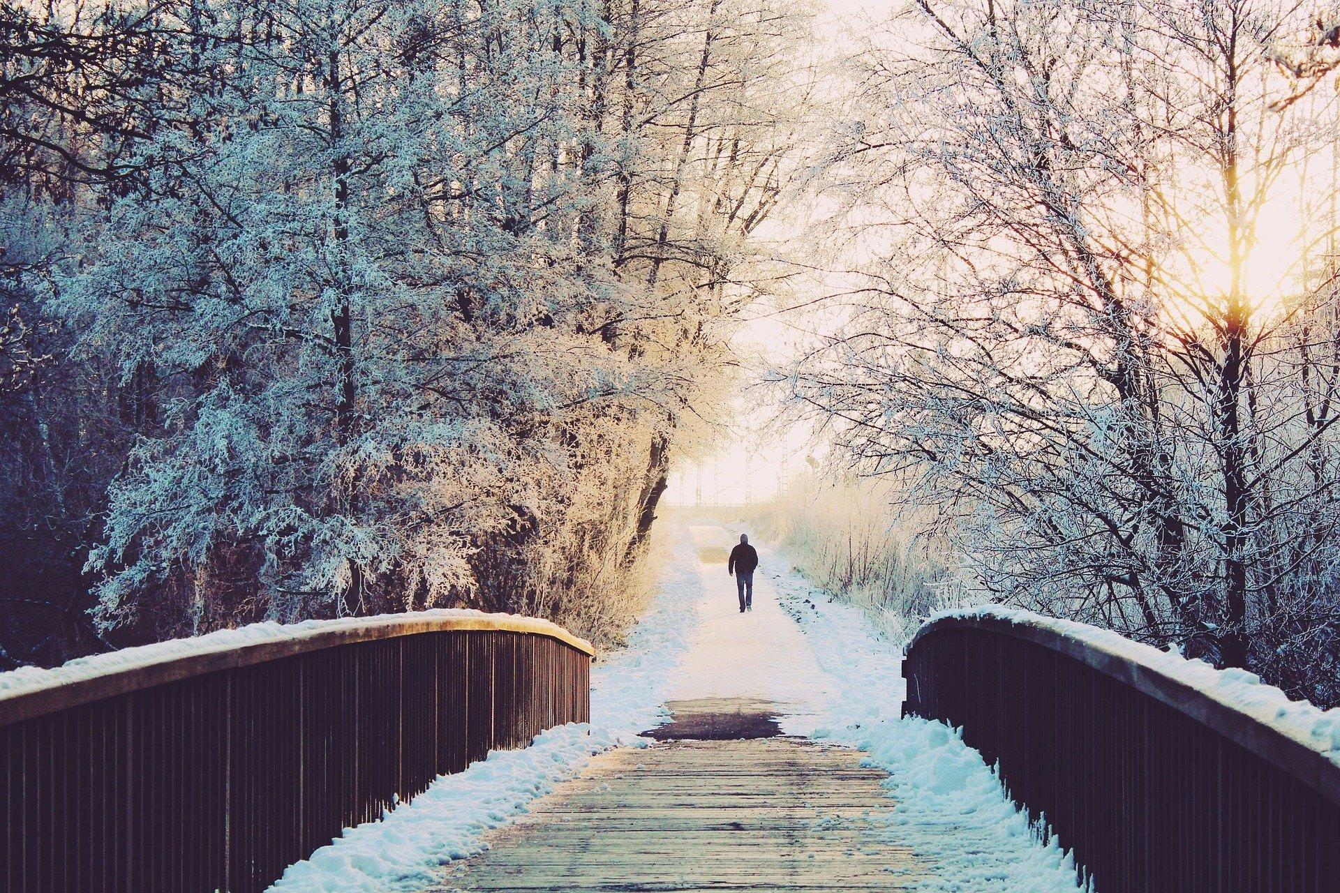 Bewegung Winter