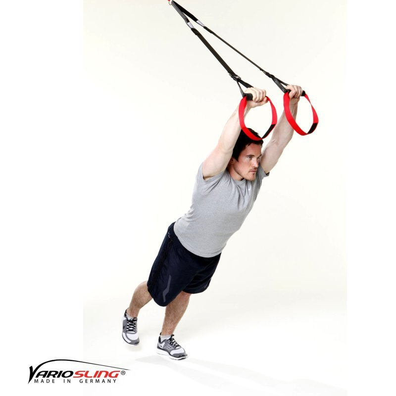 Sling-Trainer Bauchtraining Einbeiniger Standing Roll-out 01