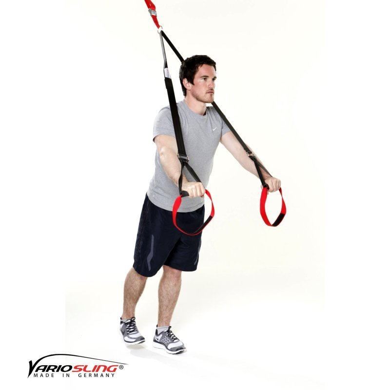 Sling-Trainer Bauchtraining Einbeiniger Standing Roll-out 02