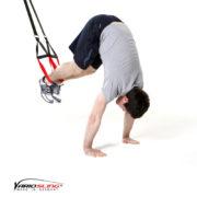 Sling-Trainer Bauchübung –  ReCrunch Arme gestreckt mit Pike