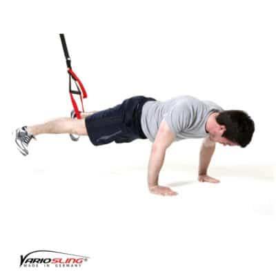 Sling-Trainer Bauchübung – ReCrunch-Stabi mit Abduktion