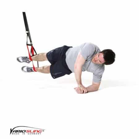 sling-trainer-bauchtraining-Sidestaby 2. Arm stützt nach