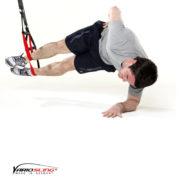 Sling-Trainer Übung – Sidestaby Hüfte anheben