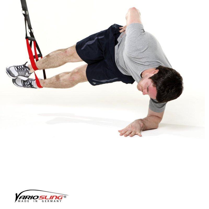 sling-trainer-bauchtraining-Sidestaby Hüfte anheben-02