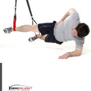 Sling-Trainer Übung - Sidestaby mit Beine spreizen