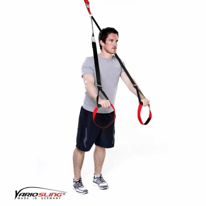 sling-trainer-bauchtraining-Standing Roll-out ein Arm gebeugt-01
