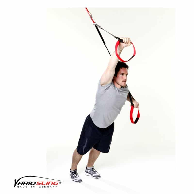 sling-trainer-bauchtraining-Standing Roll-out ein Arm gebeugt-02