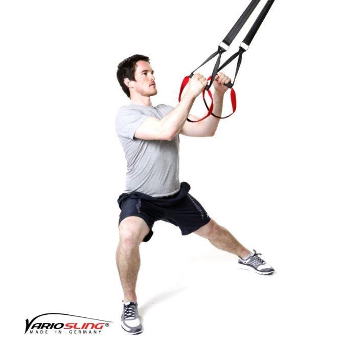 Sling-Trainer Stretchingübung - Oberschenkelinnenseite