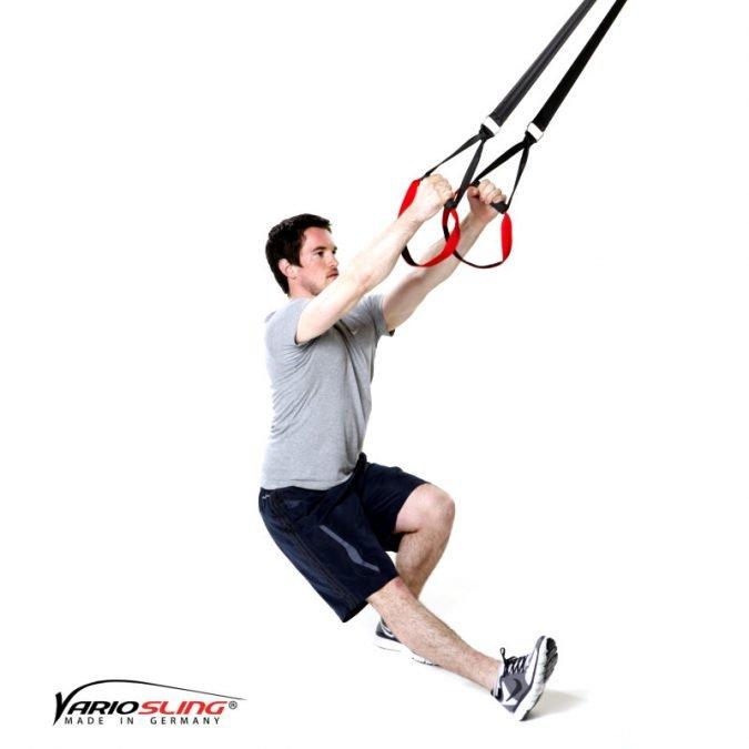 Sling-Trainer Stretchingübung - Oberschenkelrückseite