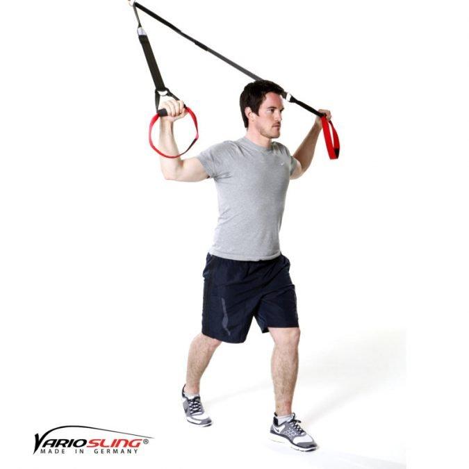 Sling-Trainer Stretchingübung - Brust - Übung I