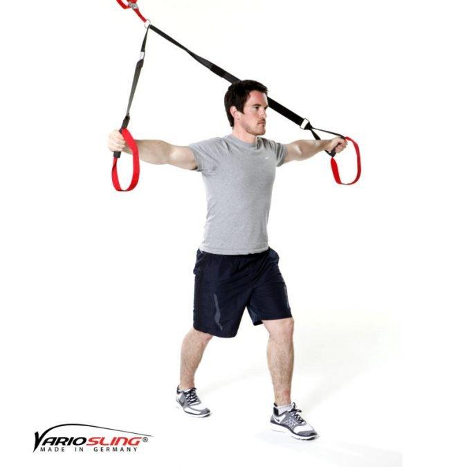 Sling-Trainer Stretchingübung - Brust- Übung III