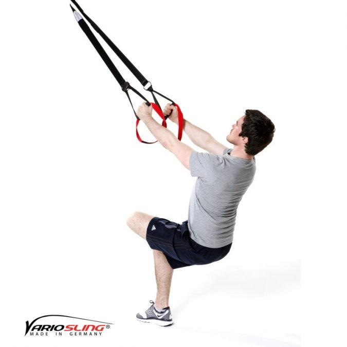 Sling-Trainer Stretchingübung - Gesäß