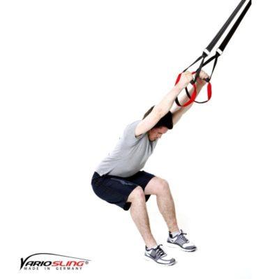 Sling-Trainer Stretchingübung - Unterer Rücken