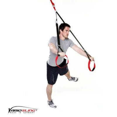 Sling-Trainer Ganzkörperübung - Chest Press halten mit Abduktion